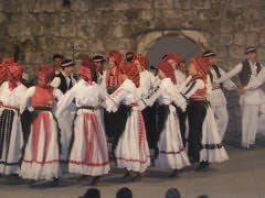 Folk Dancers Of Dalmatia